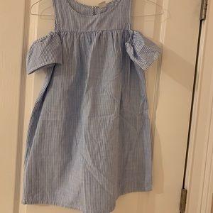 Girls off shoulder dress
